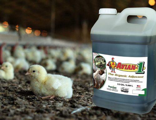 NEW OMRI Listed Poultry Adjuvant
